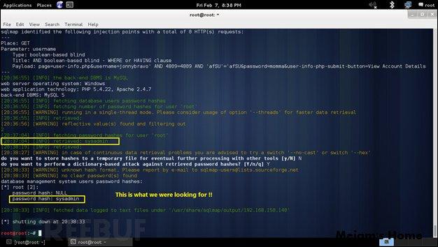 用SQLMap进行SQL盲注测试-Meiam's Home