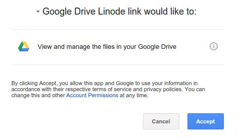 小硬盘VPS福利!挂载 Google Drive 无限存储-Meiam's Home