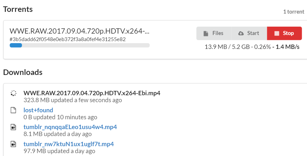 Cloud Torrent + Googe Drive 实现离线下载功能-Meiam's Home