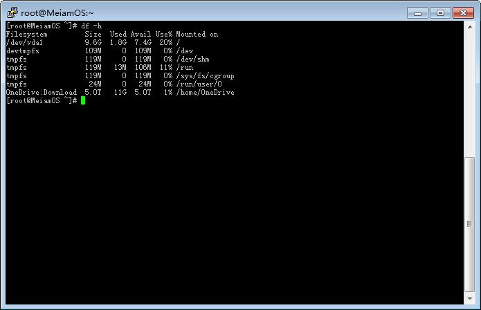 【原创】Centos7 使用 RCLONE 挂载 OneDrive  搭建离线下载 、在线播放-Meiam's Home