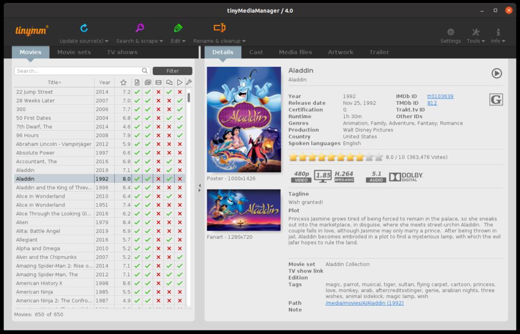 【原创】tinyMediaManager v4 Cracked  WINDOWS  LINUX ARM  MACOS 全平台文件下载-Meiam's Home